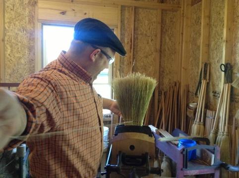 broom long sew