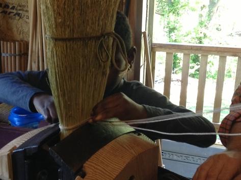 broom sewing