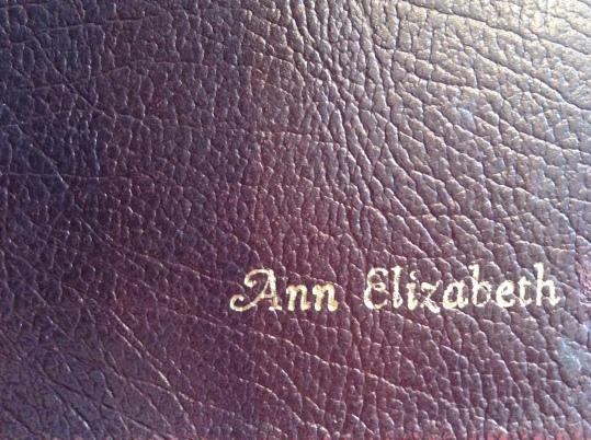 bible emboss